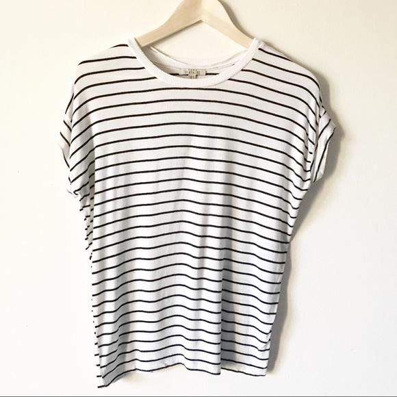 31ceb69d6b Zara Trafaluc Black White Striped T-Shirt Basic. M_5bc7d10f2beb797c5ead03b8